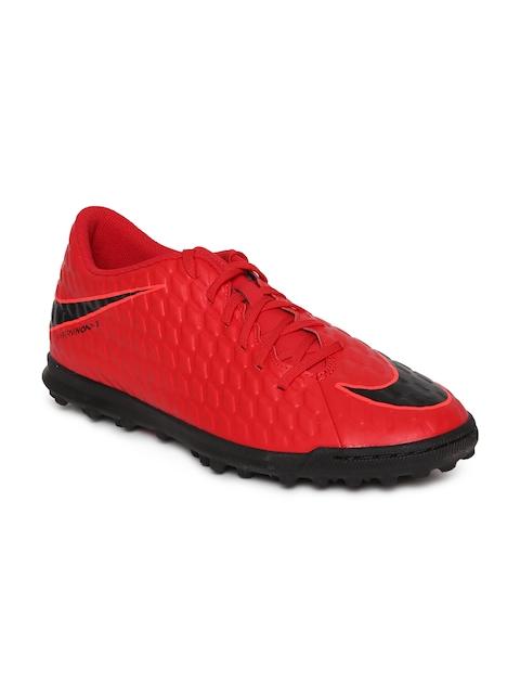 Nike Men Red HYPERVENOMX PHADE III Football Shoes