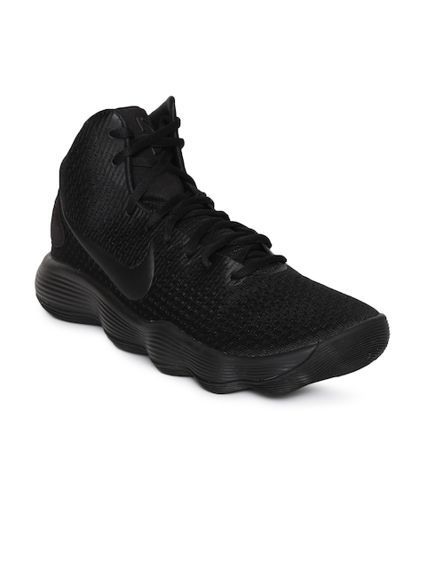 Nike Men Black HYPERDUNK High-Top Basketball Shoes