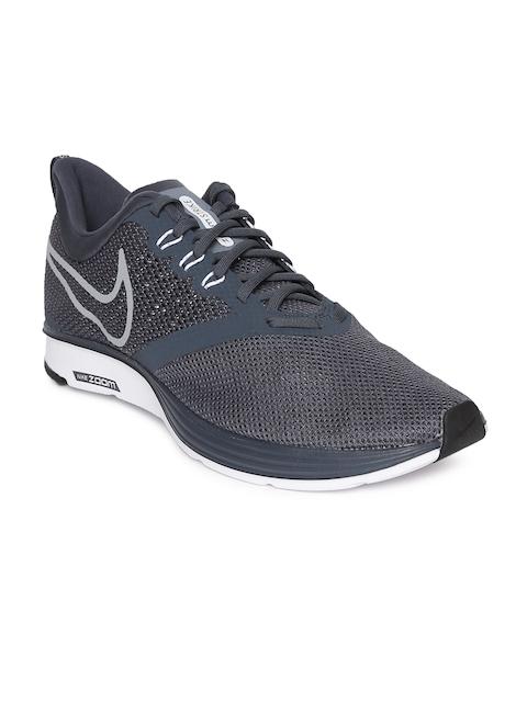 Nike Men Navy Blue ZOOM STRIKE Running Shoes