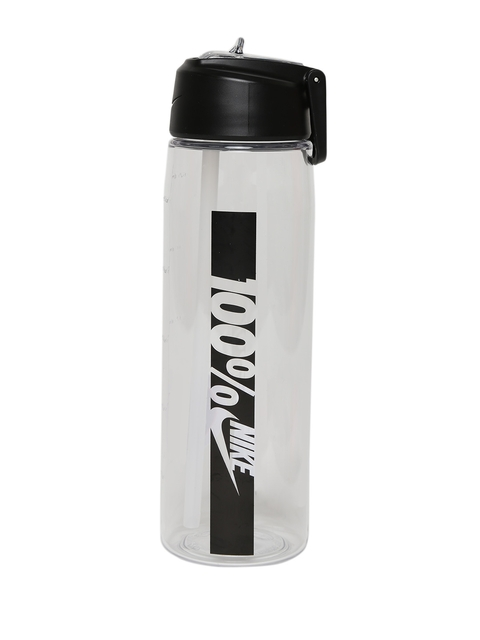 Nike Unisex White Core Flow 100 Printed Water Bottle