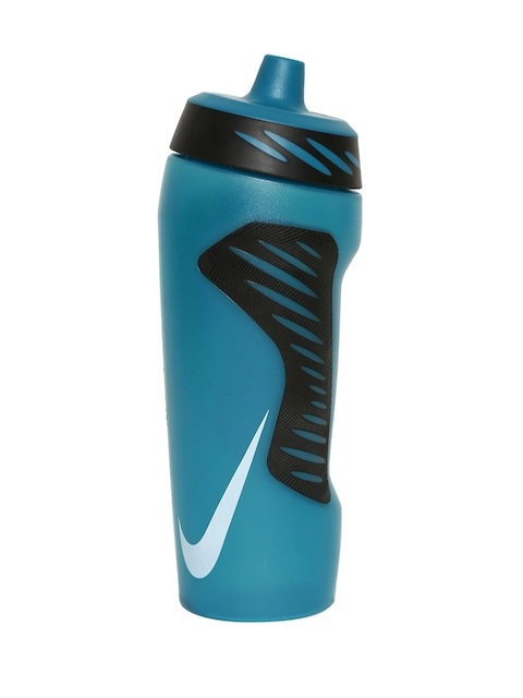 Nike Unisex Teal Blue & Black Hyperfuel Printed Water Bottle