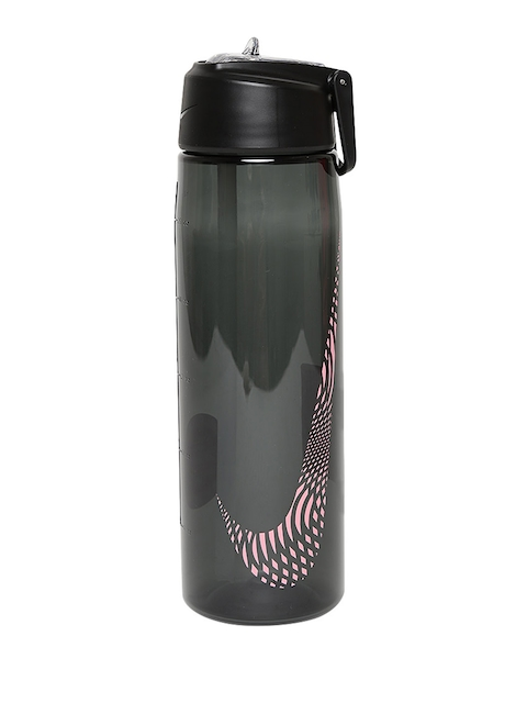 Nike Unisex Black Core Flow Graphic Water Bottle