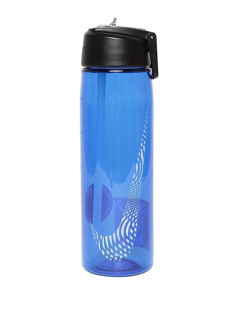 Nike Unisex Blue Core Flow Graphic Water Bottle