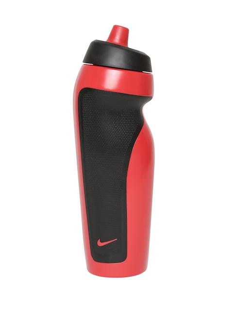 Nike Unisex Red & Black Sport Water Bottle