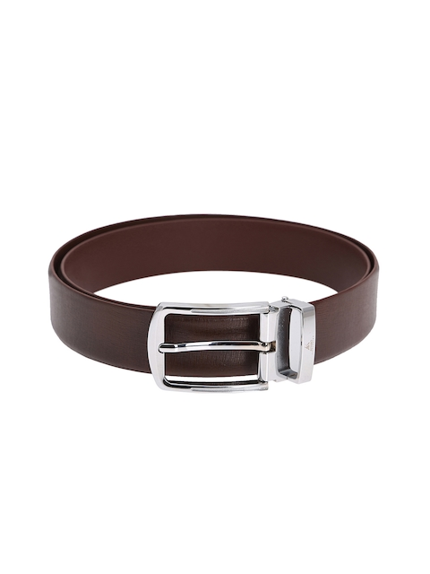 Alvaro Castagnino Men Brown Solid Leather Belt