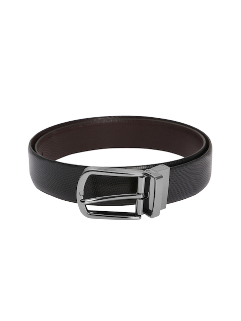 Alvaro Castagnino Men Black & Brown Reversible Belt