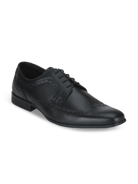 Bond Street by Red Tape Men Black Formal Brogues