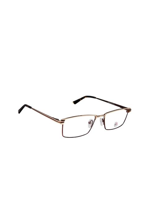 David Blake Unisex Copper-Toned Full Rim Rectangle Frames LCEWDB1307CK6055-C5