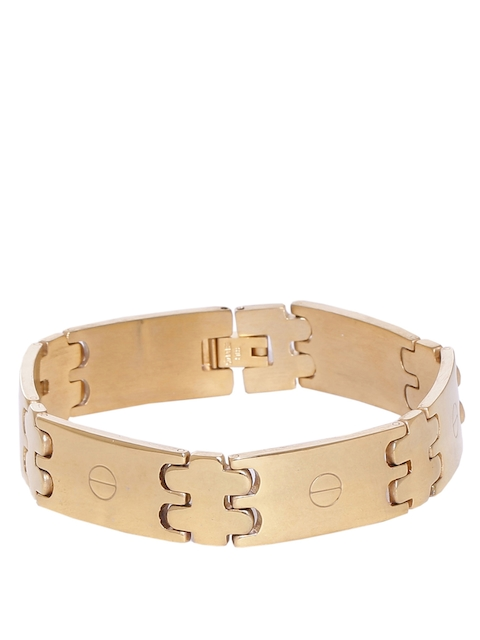 Dare by Voylla Men Gold-Toned Bracelet