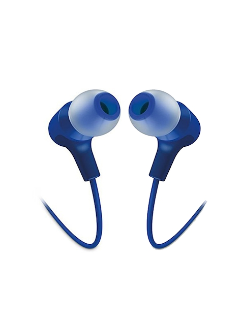 JBL Unisex Blue Wired In-Ear Headphones E15