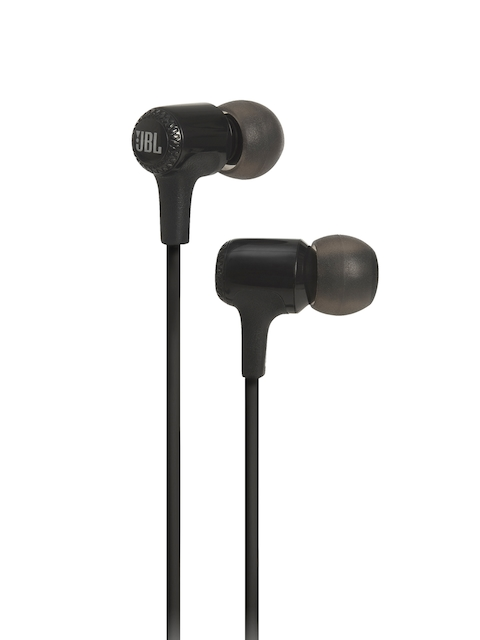 JBL Unisex Black Wired In-Ear Headphones E15