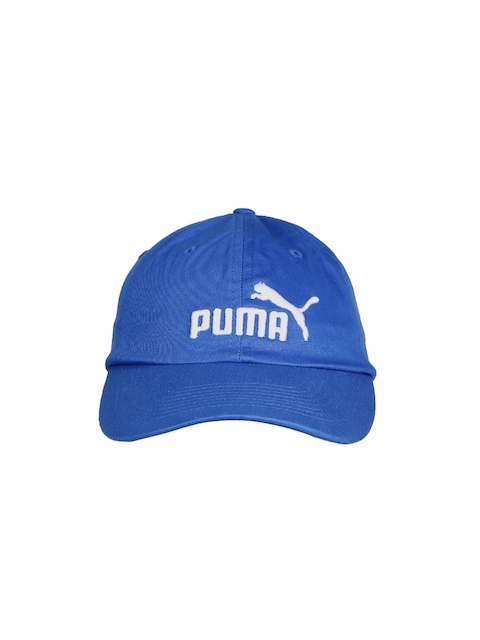 Puma Unisex Blue ESS Baseball Cap  available at myntra for Rs.359