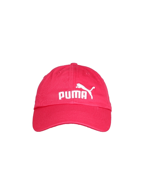 Puma Unisex Pink ESS Baseball Cap  available at myntra for Rs.359
