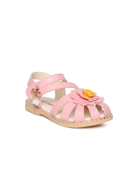 Kittens Girls Pink Fisherman Sandals
