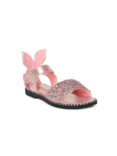 Kittens Girls Pink Comfort Sandals