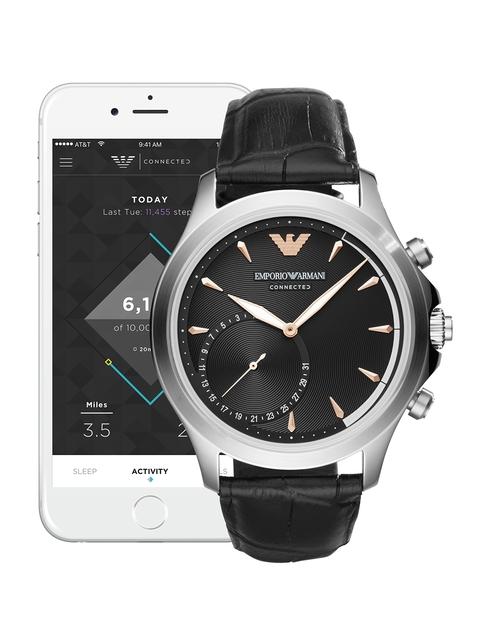 Emporio Armani Connected Men Black Hybrid Smart Watch ART3013