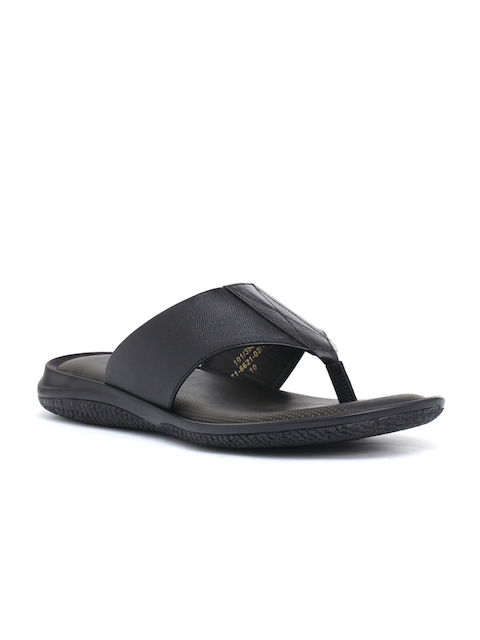 Bata Men Black Comfort Sandals