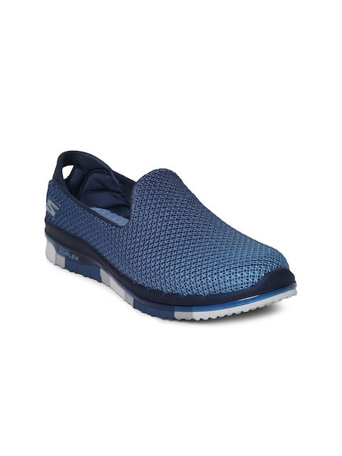 Skechers Women Navy Blue GO Flex Walking Shoes