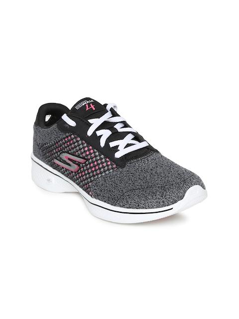 Skechers Women Grey GO WALK 4 EXCEED Walking Shoes