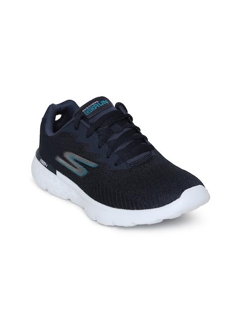 Skechers Women Navy Blue Running Shoes