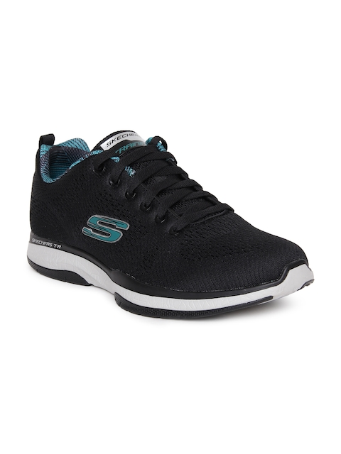 Skechers Men Black BURST TR - CORAM Sports Shoes
