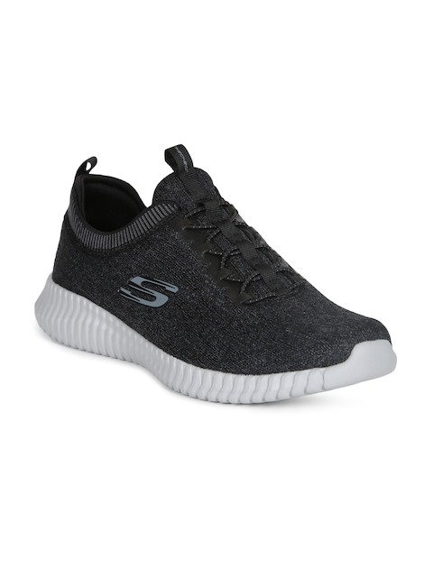 Skechers Men Charcoal ELITE FLEX- HARTNELL Sports Shoes
