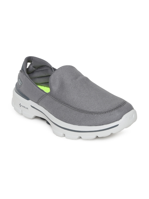 Skechers Men Grey GO WALK 3 - LT Walking Shoes