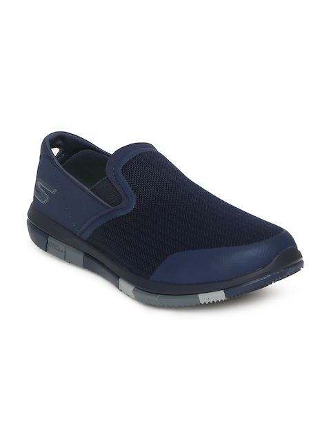 Skechers Men Navy Blue GO WALK FLEX Walking Shoes