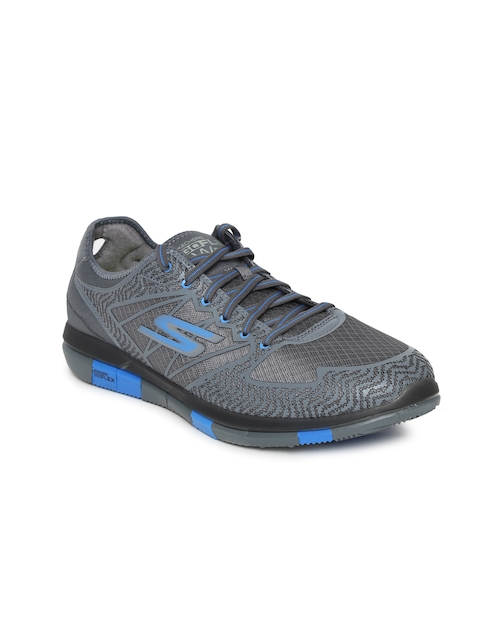 Skechers Men Grey GO WALK FLEX Walking Shoes