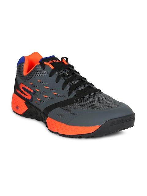 Skechers Men Charcoal GO TRAIN - ENDURANCE Training Shoes