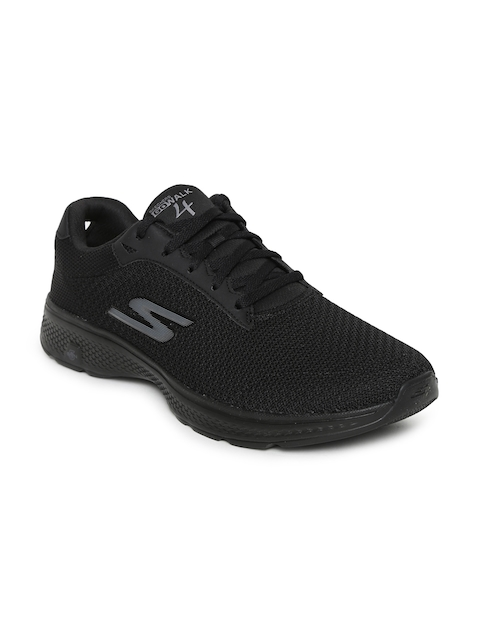 Skechers Men Black GO WALK 4 Walking Shoes