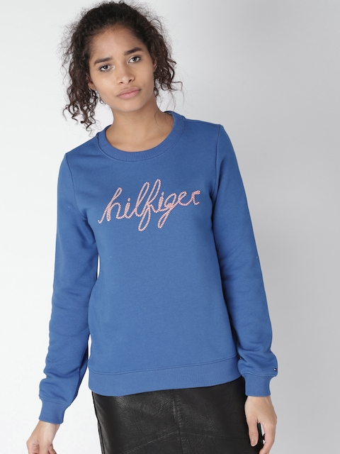 c4e8584340 Tommy Hilfiger Women Sweaters   Sweatshirts Price List in India 26 ...