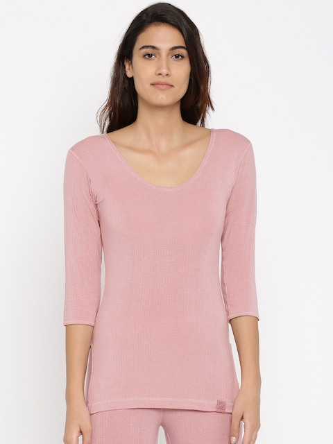 Jockey Pink Thermal Top