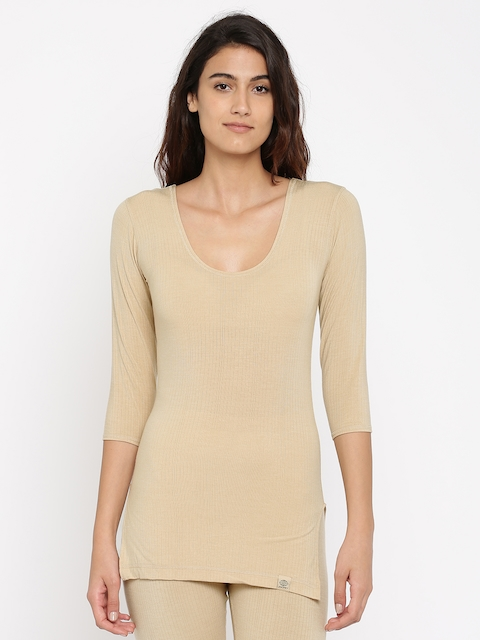 Jockey Nude-Coloured Thermal Top