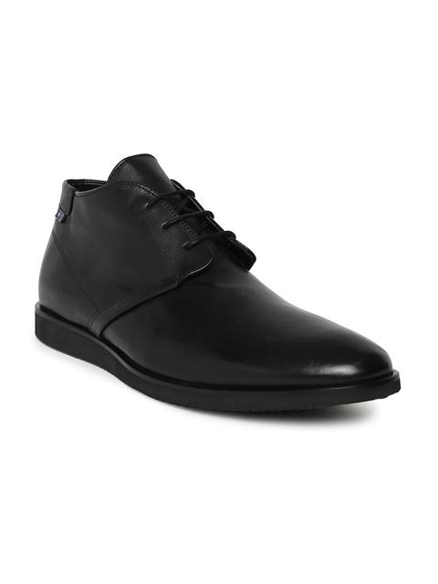 Arrow Men Black Flat Boots