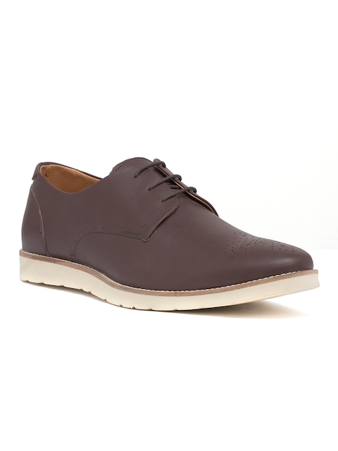 Bata Men Brown Derbys