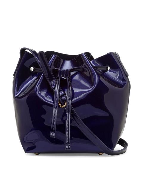 FOREVER 21 Blue Glossy Sling Bag