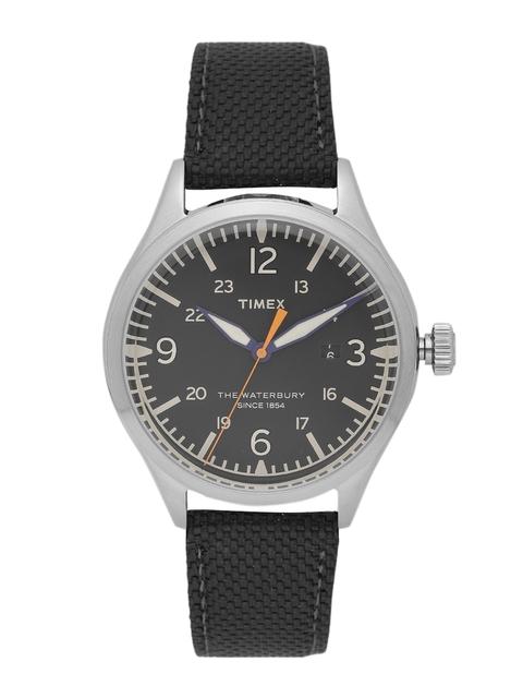 Timex Men Black Analogue Watch TW2R38500