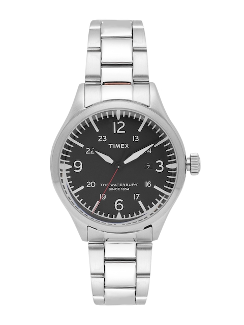 Timex Men Charcoal Grey Analogue Watch TW2R38700