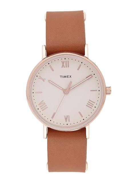Timex Men Cream-Coloured Analogue Watch TW2R28800