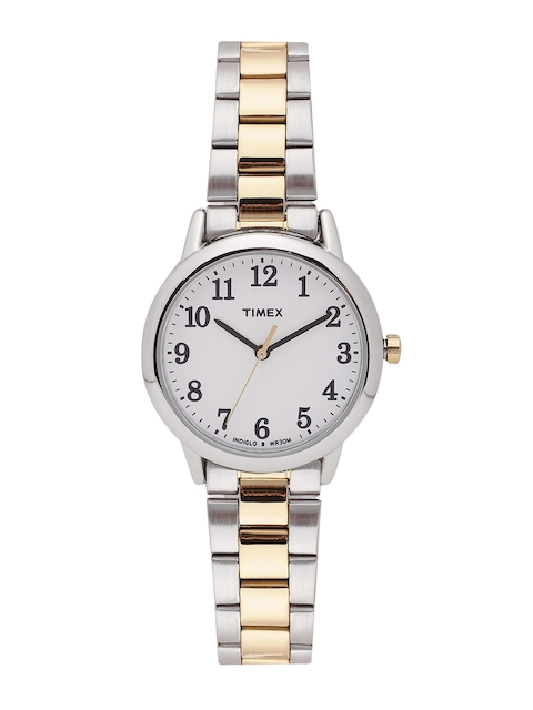 Timex Women White Analogue Watch TW2R23900