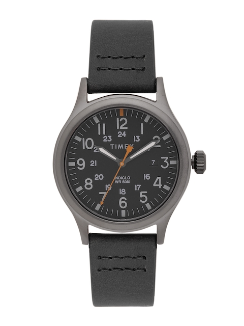 Timex Men Black Analogue Watch TW2R46500