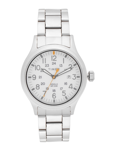 Timex Men White Analogue Watch TW2R46700