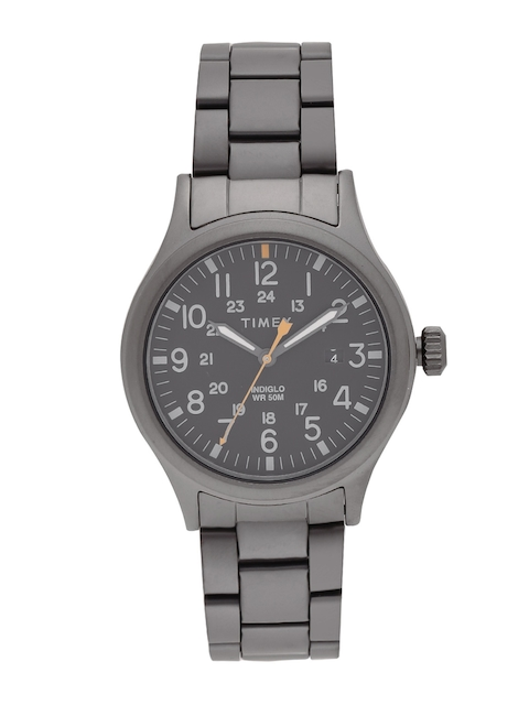 Timex Men Charcoal Grey Analogue Watch TW2R46800