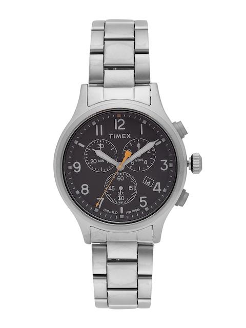 Timex Men Charcoal Grey Chronograph Watch TW2R47700