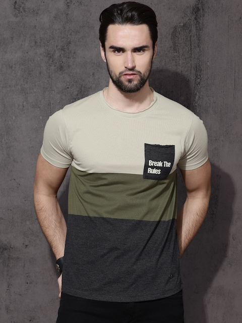 dd39f46eb Roadster Men T-Shirts & Polos Price List in India 24 June 2019 ...