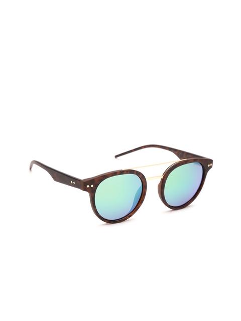 Polaroid Unisex Polarised Mirrored Oval Sunglasses 6031/S N9P 495Z