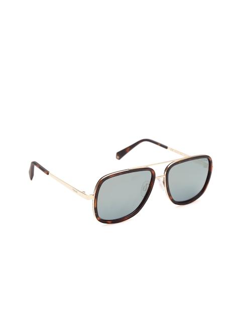 Polaroid Unisex Mirrored Polarised Square Sunglasses PLD 6033/S 086 57LM