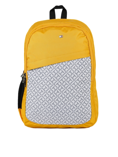 Tommy Hilfiger Unisex Yellow Backpack