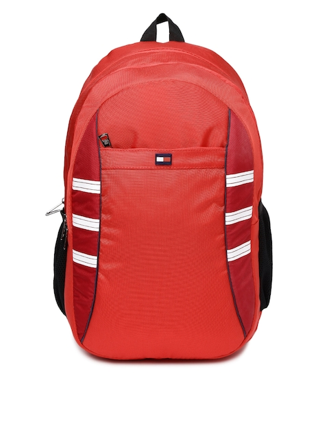Tommy Hilfiger Unisex Red Backpack